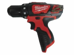 NEW Milwaukee 2407-20 12 Volt Li-Ion 3/8 in. Cordless Drill/Driver Tool Only 12V