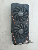 GIGABYTE GAMING RX570 4GB DUAL FAN RGB COLORS USED WORKING FAIR COND