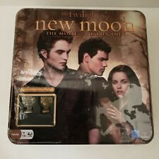 Twilight Saga new moon The Movie Board Game Bonus METAL CULLEN CREST PIECES TIN