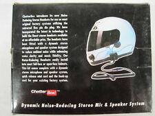 CHATTER BOX FULL FACE HELMET HEADSET SYSTEM (CC-045) PARTIAL KIT, FOR PARTS.