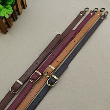 Adjustable Leather Replacement DIY Shoulder Cross Body Strap for Handbag 120cm