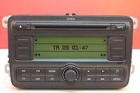 SKODA FABIA ROOMSTER DANCE MP3 CD RADIO PLAYER CAR STEREO CODE WARRANTY