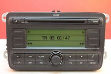 SKODA FABIA DANCE CD RADIO MP3 PLAYER CAR STEREO CODE 2008 2009 2010 2011 2012