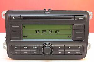 SKODA FABIA DANCE CD RADIO MP3 PLAYER CAR STEREO CODE 2008 2009 2010 2011 2012