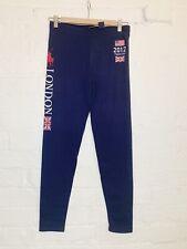 Ralph Lauren Navy Cotton London 2012 Team USA Leggings