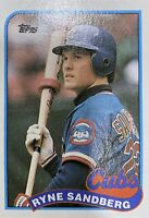 1989 Topps Ryne Sandberg Chicago Cubs #360 NMMT