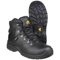 Amblers AS335 MOORFOOT Black Mens Ladies Metatarsal Safety Boot |3-15|