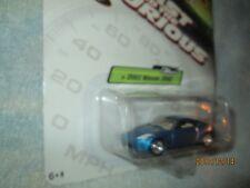 Fast and furious 2003 nissan 350Z BLUE CUSTOM  JOHNNY LIGHTNING JL 1/64 2004