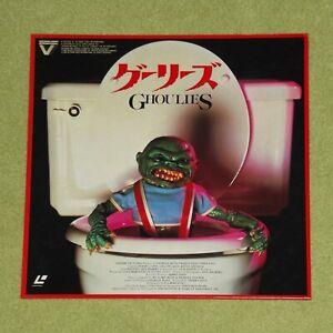 GHOULIES [1985/Horror] - RARE 1986 JAPAN UNCUT LASERDISC (Cat No. G88F5334)
