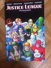 JUSTICE LEAGUE INTERNATIONAL VOLUME FOUR PAPERBACK SOFTCOVER FINE