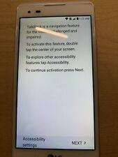 New listing Lg Tribute Hd Ls676 - 16Gb - White (Boost Mobile) Smartphone