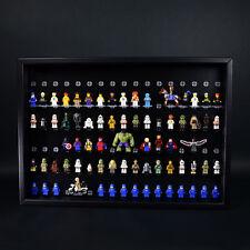 FiguCase Click System 50 x 70 Vitrine für 102 eure LEGO® Figuren schwarz schwarz