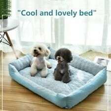 Baby Soft Large Pet Dog Bed Cat Kennel Warm Cozy Dog House Soft Cooling Mat Pads