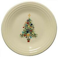 "Fiesta Dinnerware 9"" Luncheon Plate - Christmas Tree"