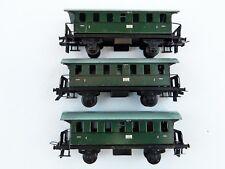 Trix Express 20/114 Konvolut Personenwagenwagen Blech 2. Klasse grün DC H0