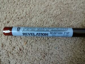 Rod Building Wrapping Rainshadow REVM710XH 50-100# Musky blank DISCONT. COLOR