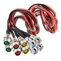 10x Ampoules LED 12V pour Feux d'Avertissement de Voiture, Camion, Bateau,