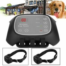 Waterproof & Rechargeable Wireless Pet Fence Containment 2 Dog Systems BP