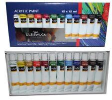 12 couleurs de Peinture Acrylique Van Bleiswijck aquarelle pour artiste
