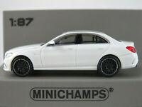 Minichamps 870 038100 Mercedes-AMG C63 Limousine (2019) in weiß 1:87/H0 NEU/OVP