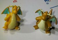 Vintage 90s Pencil Topper & TOMY Dragonite Mini Figure Nintendo Pokemon Toy Lot
