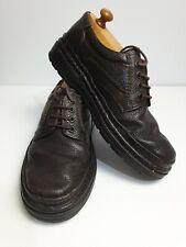 Florsheim Wellington Men's Brown Leather Casual Boat Shoes Size 6 EE 41 EUR