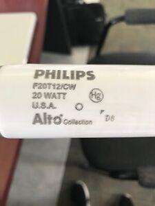 "Philips Fluorescent 20 Watt 24"" Bulb F20T12/CW/ALTO (30 Pack)"