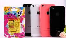 New R-SIM 9 iPhone 4s 5 5c 5s GSM ATT Tmobile Verizon iOS 7.0~7.1 Rsim 9 PRO