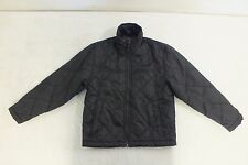Snozu Black Lightly Insulated Jacket Youth Size 8 Satisfaction Guaranteed LOOK