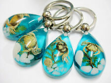 20pc wholesale blue drop sea shell&sea crab&sea snail fine gift key-chains Bw003