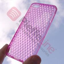 Custodia in silicone TRASPARENTE ROSA SLIM PROTEZIONE per APPLE iPod TOUCH 5