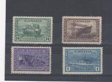 Canada 1942-48 War Effort high vals MVLH