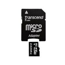 Transcend 2GB Micro SD Memory Card with Adapter for Samsung Galaxy S2 S3 S4 S5