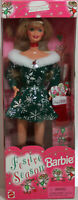 Festive Season Blonde Barbie 1997, NRFB Mint w/LN box - 18909