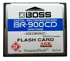 OFFICIAL BOSS BR-900CD COMPACT FLASH MEMORY CARD 1GB BR864 BR600 SP404 MC808