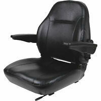 Black Talon Premium High-Back Steel Seat - Black, Model# 440200BK