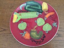 "CERTIFIED INTERNATIONAL MUY CALIENTE DINNER PLATE - 11"" by Lori"