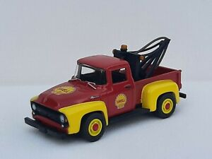 Greenlight 1/64 station Shell  . Ford F100 1956 .  NEUF SANS BOITE. Loose