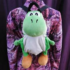 "NINTENDO Yoshi Plush 18"" Backpack Mario Brothers Bros Video Game Zipper Tote Bag"