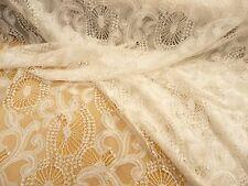 Spitzenstoff, italienische Spitze, Nylon, Weiß, Tüll, Schnörkel, Brautkleid