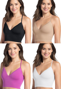 CLEARANCE!! SIZES/COLORS Jockey Natural Beauty Removable Cup Bralette 2456