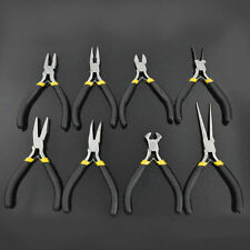 New Jewellery Making Beading Mini Pliers Tools Kit Set Round Flat Long Nose SR