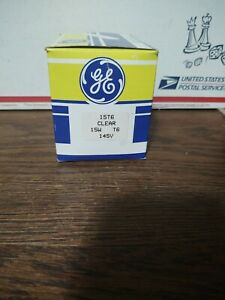 12 Pack GE Lighting Tubular 15T6/145V 15 Watt  145V Incandescent Light Bulb Lamp