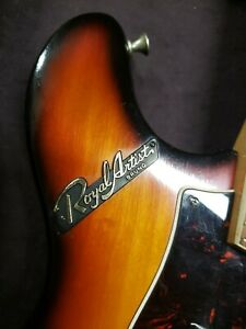 Royal Artist by Bruno and sons electric mandola late 60's