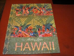"Liberty Wooden Puzzle ""Matson Lines Hawaii"" 567 Pieces COMPLETE"