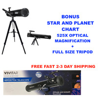 HD 525X TELESCOPE FULL SIZE TRIPOD LUNAR AND FOR STAR OBSERVATION FAST SHIPPING