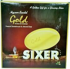 Mysore Sandal Gold Sixer, 125 - Pack of 6 - Total 750g