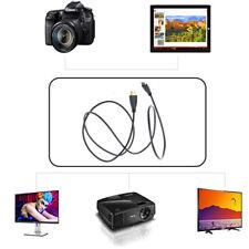 PwrON Mini HDMI Audio Video TV Cable Cord for Canon EOS Digital Rebel T2/i T1/i