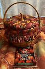 Longaberger 1997 Little Pumpkin Basket #16021 Complete Set With Fall Foliage Lid