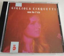 GIGLIOLA CINQUETTI NON HO L'ETA' CD ALBUM 1983 OTTIMO SPED GRATIS SU + ACQUISTI!